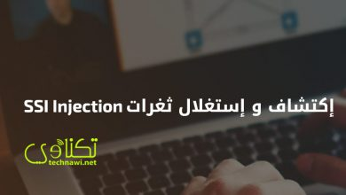 ثغرات SSI Injection