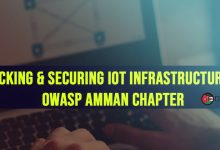 Photo of Hacking & Securing IoT Infrastructures – OWASP Amman Chapter